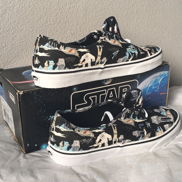 a3c8a675d057b1 vans authentic(star wars)darkside planet hoth